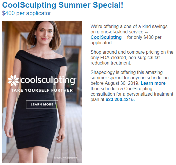 CoolSculpting Special near me